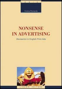 Nonsense in advertising. «Deviascion» in english print ads