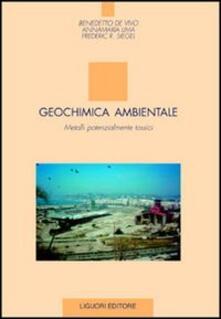 Listadelpopolo.it Geochimica ambientale. Metalli potenzialmente tossici Image