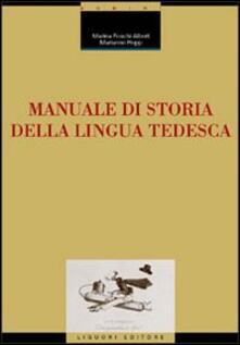 Listadelpopolo.it Manuale di storia della lingua tedesca Image