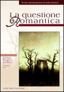 Antondemarirreguera.es La questione romantica. Vol. 10: Aesthetics, philosophy and politics. Image