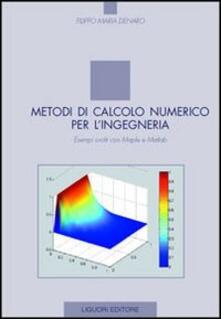 Lpgcsostenible.es Metodi di calcolo numerico per l'ingegneria. Esempi svolti con Maple e Matlab Image