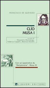 Libro Clio. Musa I Francisco G. de Quevedo y Villegas