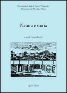 Foto Cover di Natura e storia, Libro di  edito da Liguori