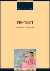 Pre-testi. Sussidiario di composizione