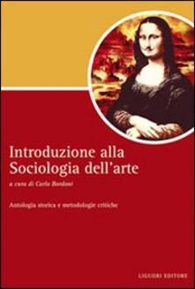 Listadelpopolo.it Introduzione alla sociologia dell'arte. Antologia storica e metodologie critiche Image