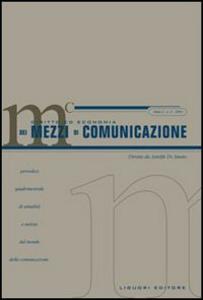Libro Diritto ed economia dei mezzi di comunicazione (2004). Vol. 3