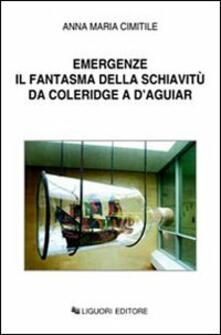 Emergenze. Il fantasma della schiavitù da Coleridge a D'Aguiar - Anna M. Cimitile - copertina
