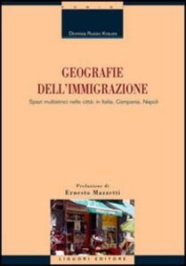 Geografie dell'immigrazione. Spazi multietnici nelle città: in Italia, Campania, Napoli