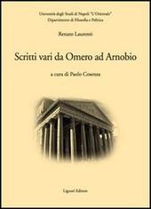 Scritti vari da Omero ad Arnobio