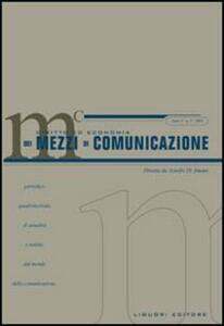 Diritto ed economia dei mezzi di comunicazione (2005). Vol. 3