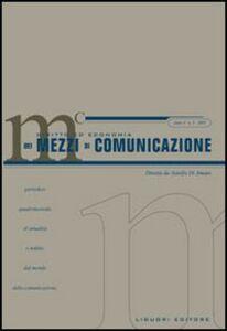Libro Diritto ed economia dei mezzi di comunicazione (2005). Vol. 3