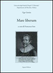 Libro Mare liberum Ugo Grozio