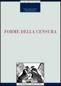 Libro Forme della censura