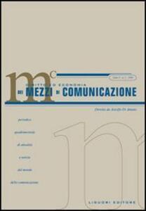 Diritto ed economia dei mezzi di comunicazione (2006). Vol. 2