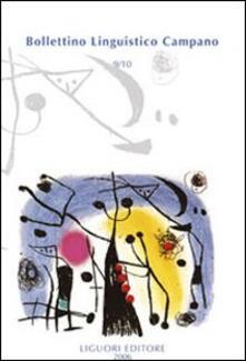 Osteriacasadimare.it Bollettino linguistico campano (2006) vol. 9-10 Image