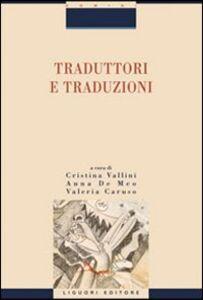 Libro Traduttori e traduzioni