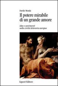 Libro Il potere mirabile di un grande amore. Idee e sentimenti nella civiltà letteraria europea Davide Monda