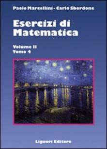 Associazionelabirinto.it Esercizi di matematica. Vol. 2\4 Image