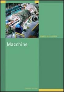 Libro Macchine Renato Della Volpe