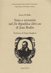 Stato e sovranità nel «De Repubblica libri sex» di Jean Bodin