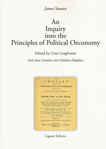 Libro Inquiry into the principles of political oeconomy (An) James Steuart