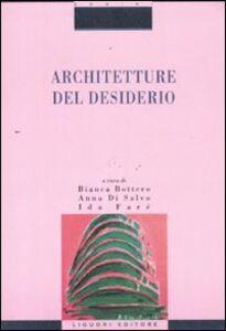 Libro Architetture del desiderio