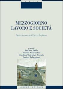 Libro Mezzogiorno, lavoro e società. Scritti in onore di Enrico Pugliese