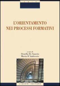 L' orientamento nei processi formativi