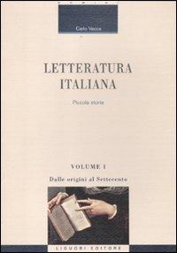 Letteratura italiana. Picco...
