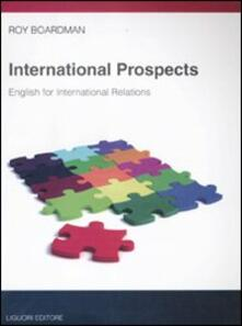 International prospects. English for international relations.pdf