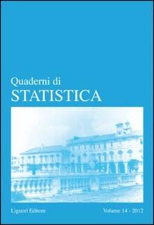 Fondazionesergioperlamusica.it Quaderni di statistica (2012). Vol. 14 Image
