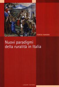 Libro Nuovi paradigmi della ruralità in Italia Teresa Amodio