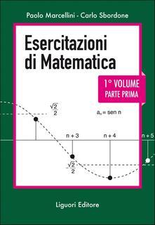 Libro Esercitazioni di matematica. Vol. 1\1 Paolo Marcellini Carlo Sbordone