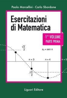 Esercitazioni di matematica. Nuova ediz.. Vol. 1/1 - Paolo Marcellini,Carlo Sbordone - ebook