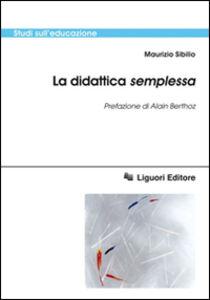 Libro La didattica semplessa Maurizio Sibilio