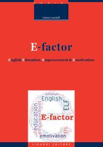 E-factor. English education, empowerment and emotivation