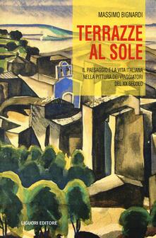 Radiosenisenews.it Terrazze al sole. Il paesaggio e la vita italiana nella pittura dei viaggiatori del XX secolo Image