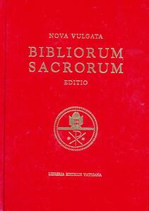 Bibliorum sacrorum nova vulgata editio. Editio maior