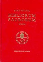 Bibliorum sanctorum. Nova vulgata editio. Editio typica altera