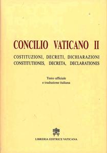 Libro Concilio Vaticano II. Costituzioni, decreti, dichiarazioni-Constitutiones, decreta, declarationis