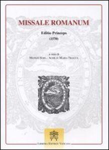 Libro Missale romanum. Editio princeps (1570)