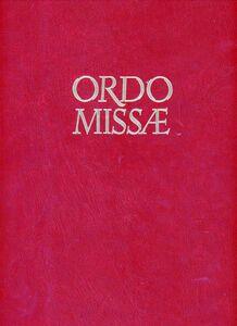 Libro Ordo missae in cantu
