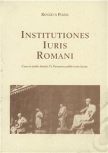 Libro Institutiones iuris romani Renato Pozzi