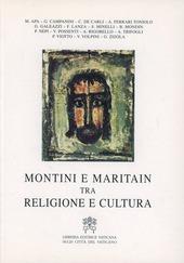 Montini e Maritain. Tra religione e cultura