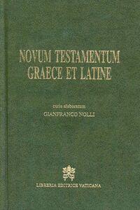Libro Novum Testamentum graece et latine. Curis elaboratum