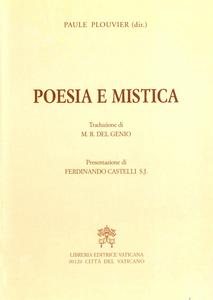 Libro Poesia e mistica Paule Plouvier