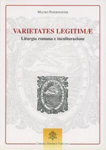 Varietates legitimae. Liturgia romana e inculturazione