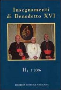 Insegnamenti di Benedetto XVI (2006). Vol. 2\1