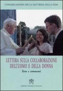 Libro Lettera della collaborazione dell'uomo e della donna. Testo e Commenti