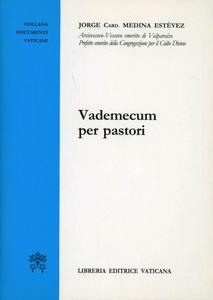 Libro Vademecum per pastori Jorge Medina Estevez